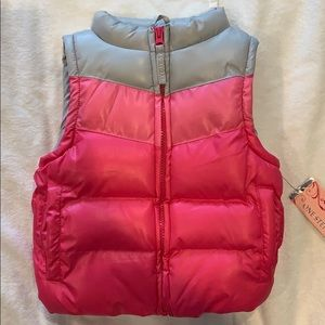 Toddler girl pink puffy Vest
